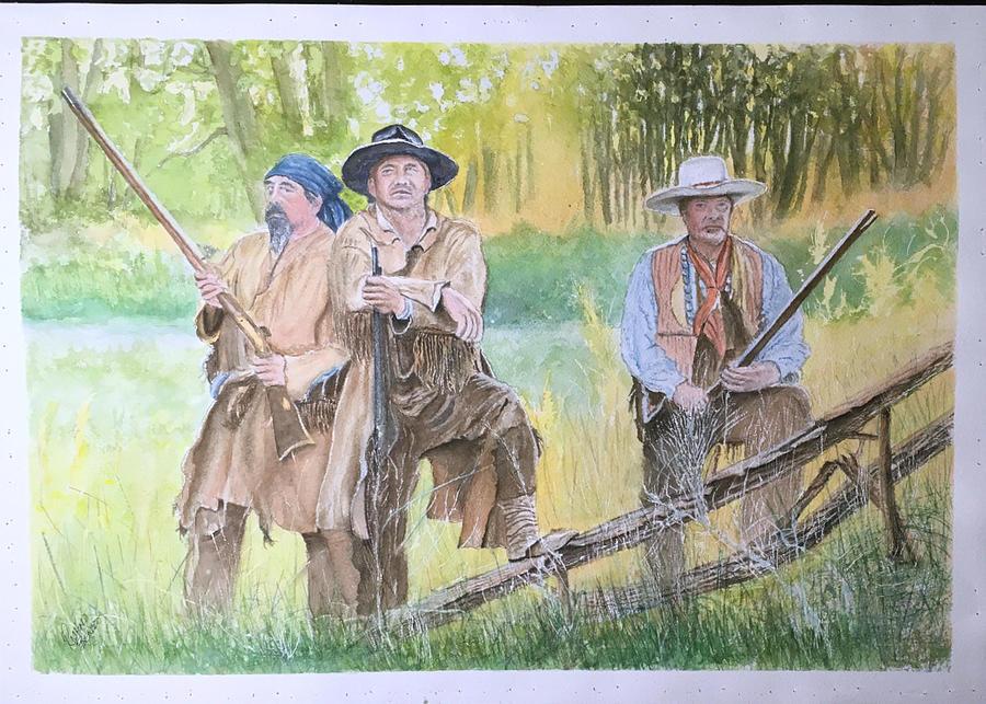 3 Woodsman by Richard Benson