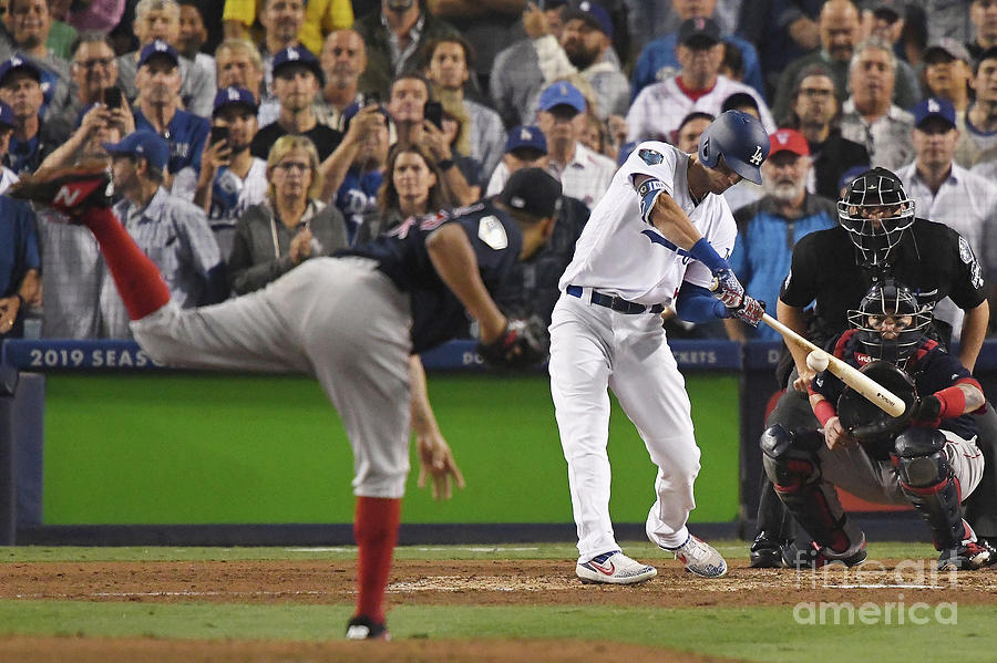 World Series - Boston Red Sox V Los Photograph by Kevork Djansezian