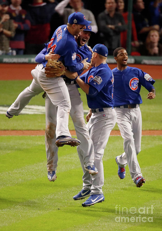 World Series - Chicago Cubs V Cleveland 3 Photograph by Gregory Shamus