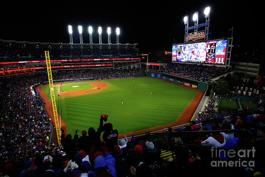 World Series - Chicago Cubs V Cleveland Photograph by Jamie Squire