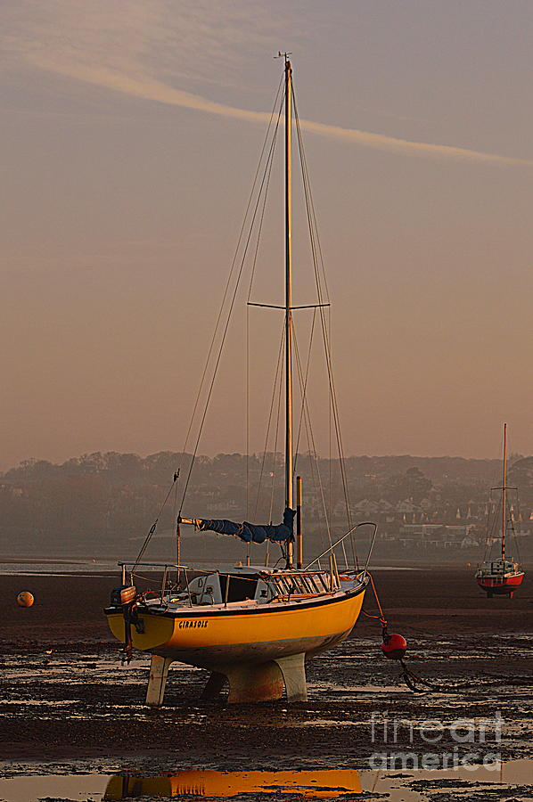 Yacht Photograph - Yacht by Andy Thompson