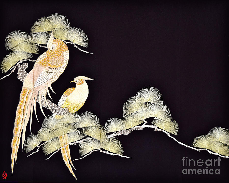 Spirit of Japan T56 Tapestry - Textile by Miho Kanamori