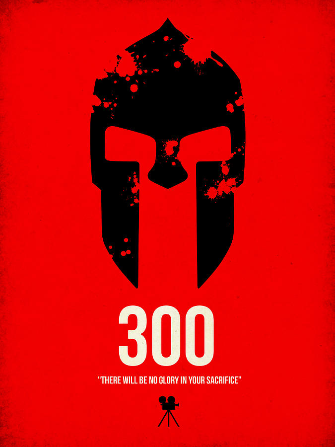 300 Digital Art - 300 by Naxart Studio