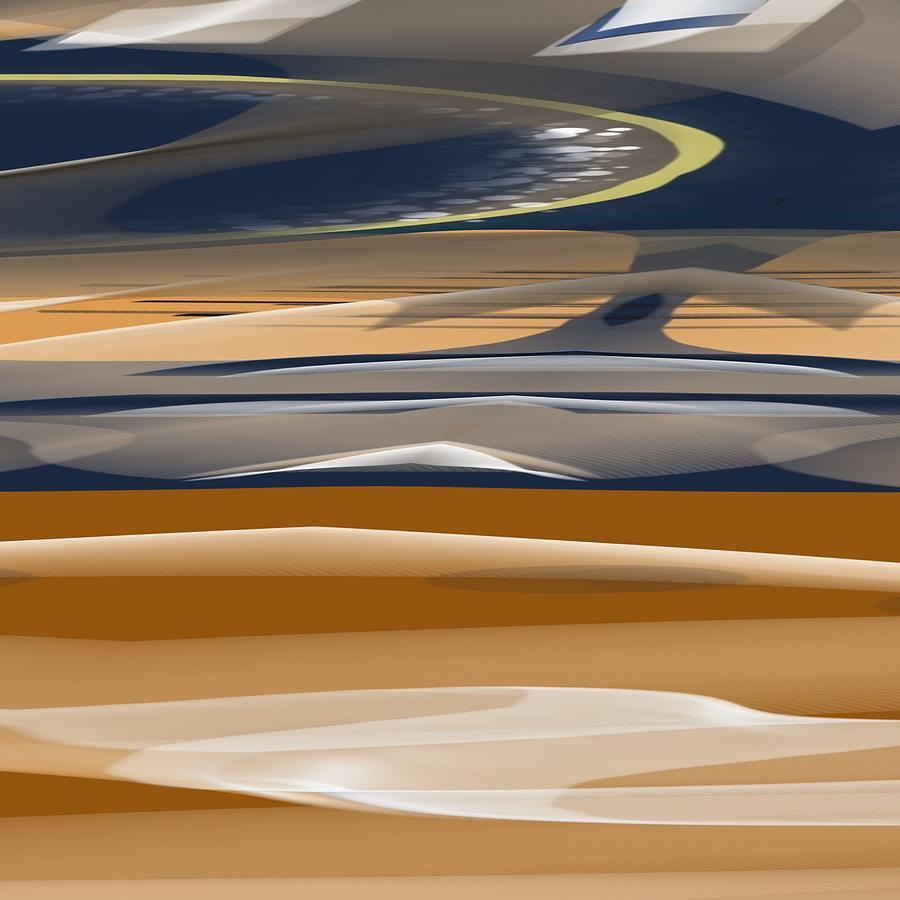 Michal Painting - Horizon by Michal Mitak