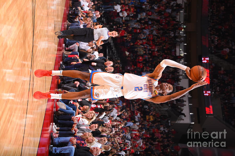 Oklahoma City Thunder V Houston Rockets Photograph by Bill Baptist
