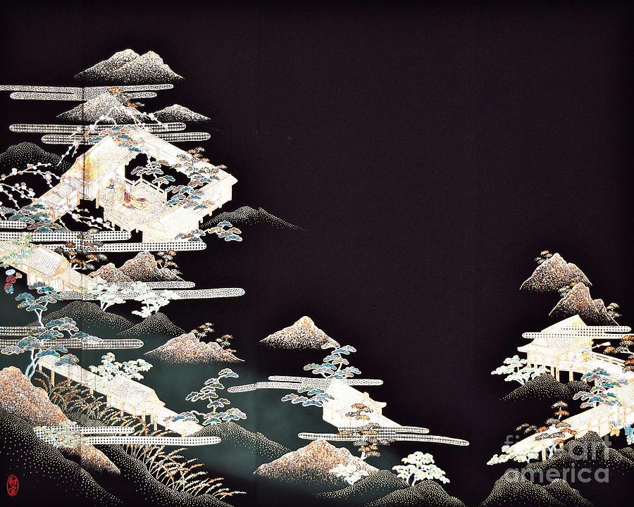 Spirit of Japan T54 Digital Art by Miho Kanamori