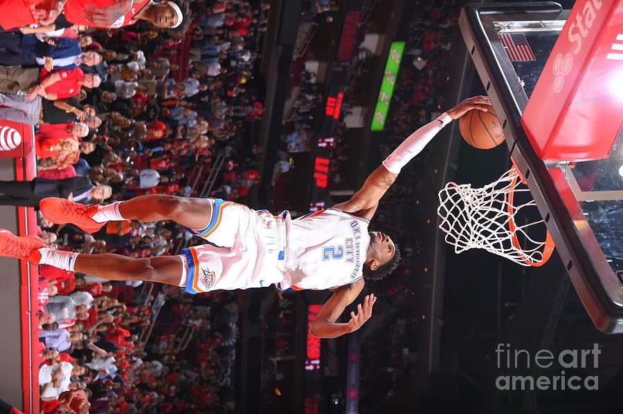 Oklahoma City Thunder V Houston Rockets Photograph by Bill Baptist
