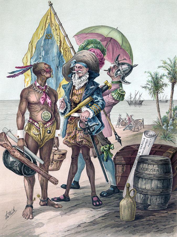 Christopher Columbus (1451-1506) by Granger