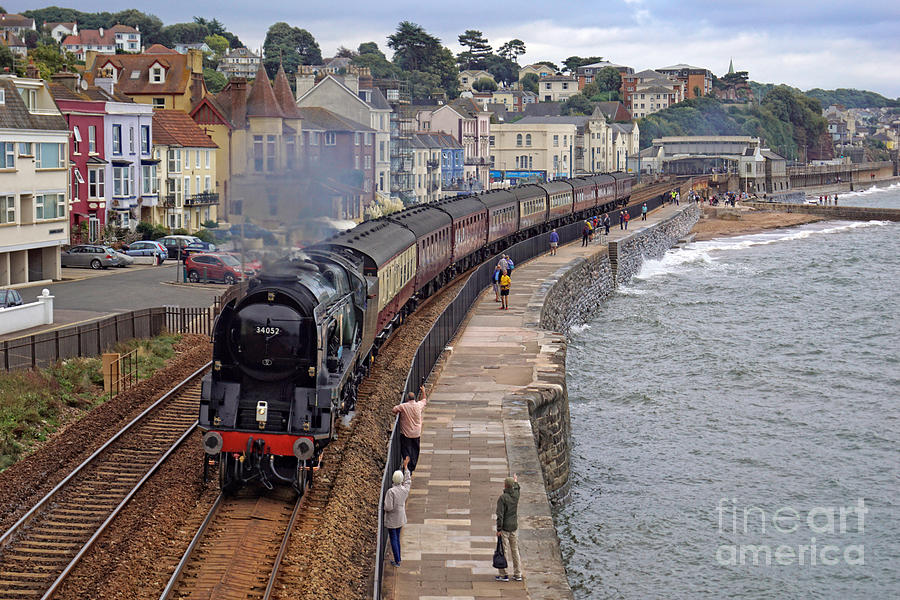 34052 Lord Dowding at Dawlish by David Birchall