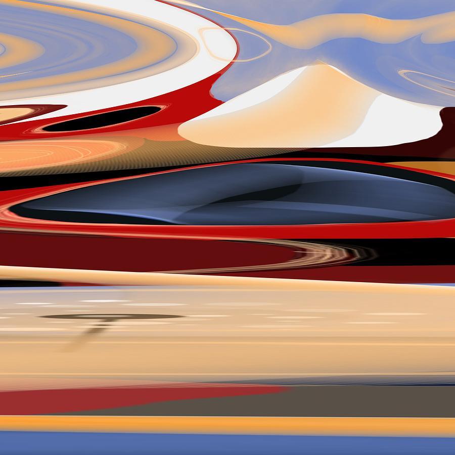 Michal Painting - Celestial Horizon by Michal Mitak