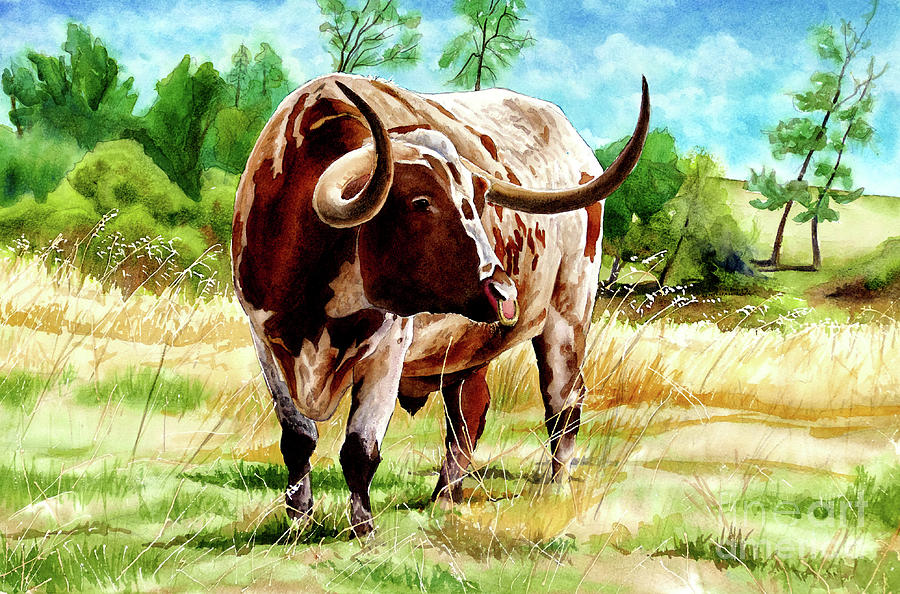 #367 Longhorn by William Lum