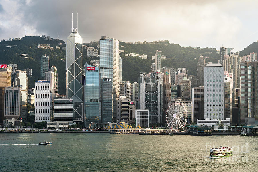 Hong Kong skyline by Didier Marti