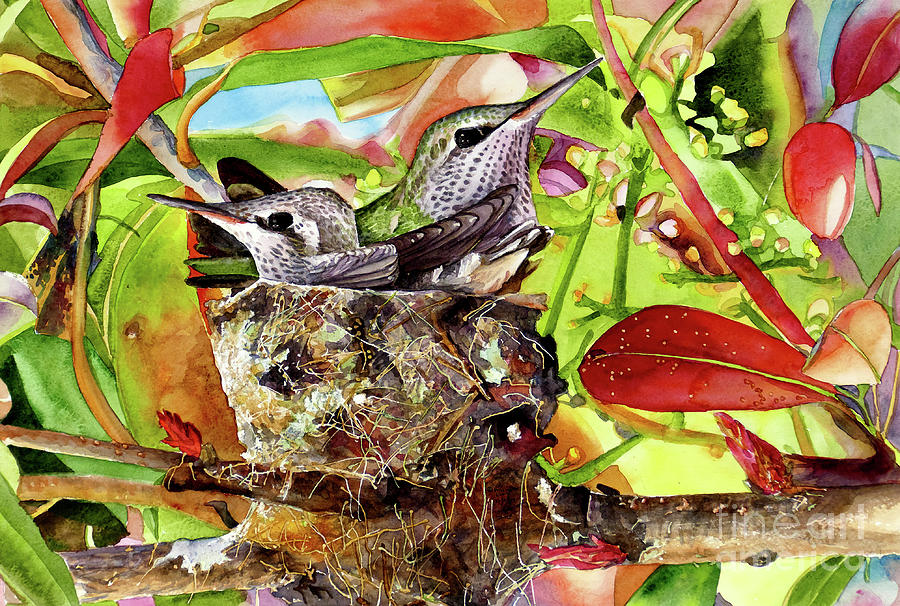 #386 Hummingbird Nest by William Lum