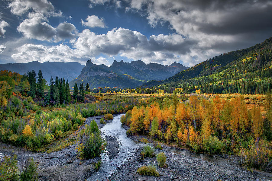 Cimarron River Lustre by Richard Raul Photography