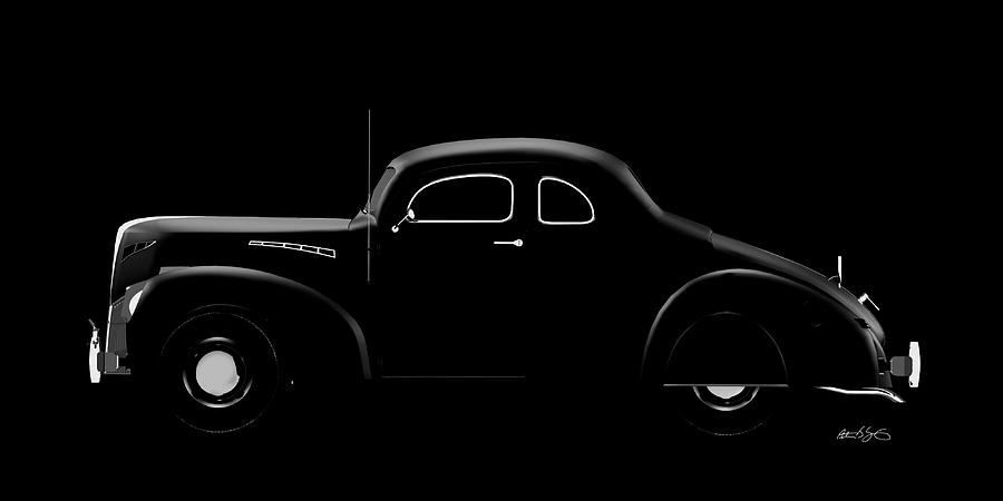 39 Ford Coupe by Peter J Sucy