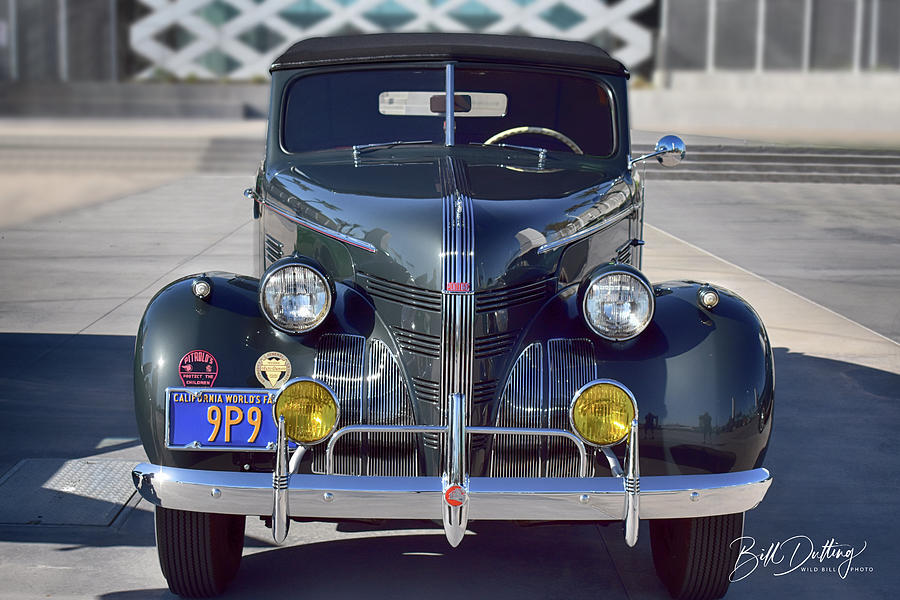39 Pontiac Convertible by Bill Dutting