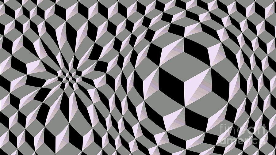 3D Abstract Cube Pattern Ultra HD by Hi Res