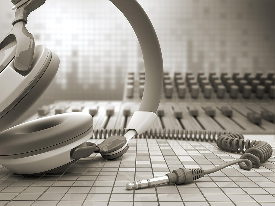 3d Audio Equipment Photograph by Petrovich9