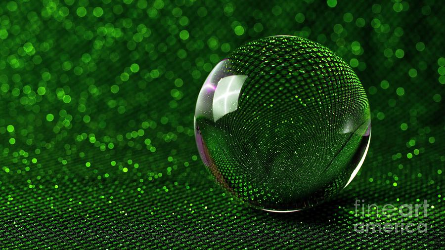 3D Crystal Glass Ball Sphere Ultra HD by Hi Res