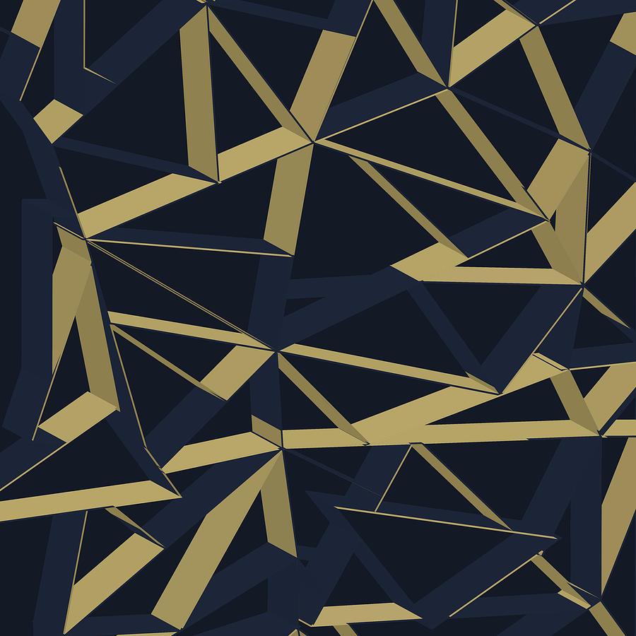 3d Futuristic Geo Digital Art
