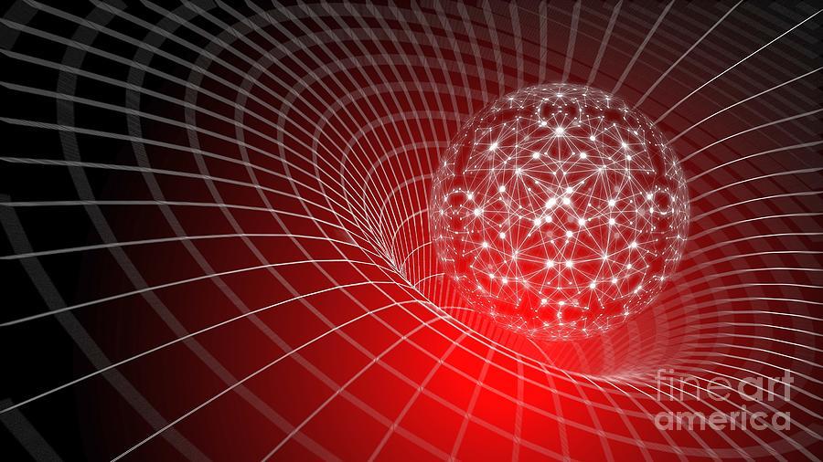 3d Neural Net Sphere Globus Gravitational Web Ultra Hd Digital Art