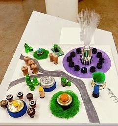 3D Park Art to Touch by Kenlynn Schroeder