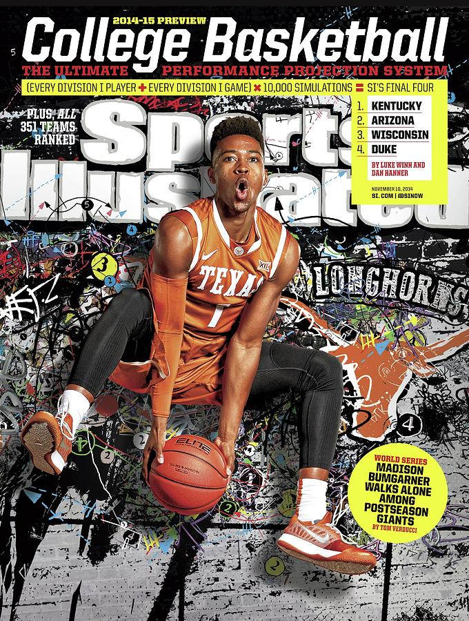 2014-15 College Basketball Preview Issue Sports Illustrated Cover Photograph by Sports Illustrated