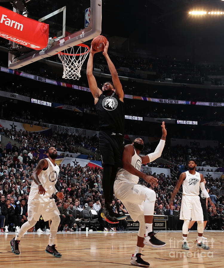 2018 Nba All-star Game Photograph by Nathaniel S. Butler