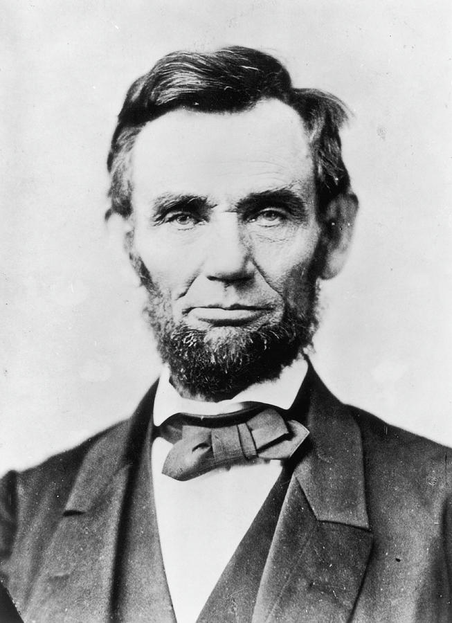 Abraham Lincoln Photograph by Alexander Gardner