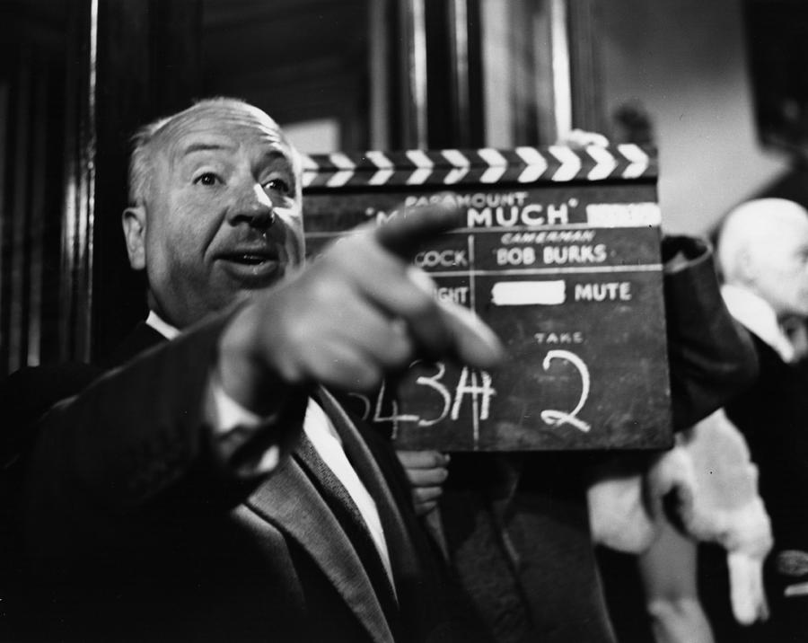 Alfred Hitchcock Photograph by Baron