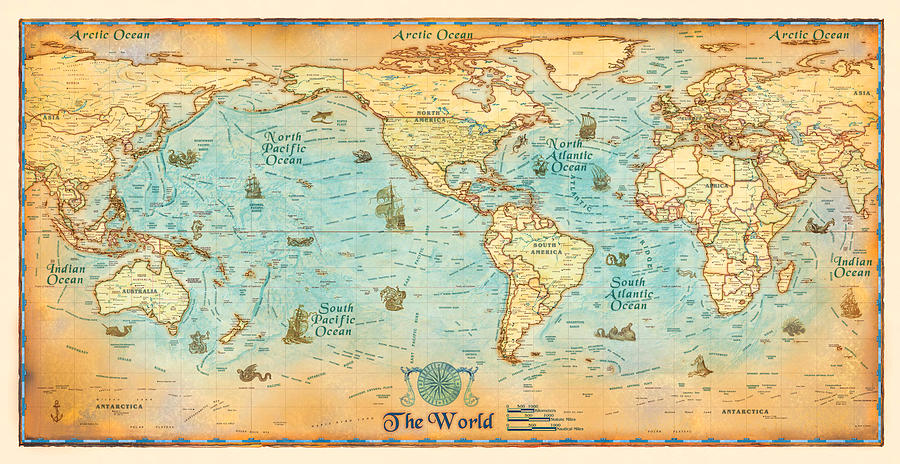 Antique World Map - Old Cartographic Map - Antique Maps on internet of the world, digital map art, destination of the world, thematic maps of the world, digital world background, atlas of the world, cartography of the world, blue technology world, digital global map, wallpaper of the world, weather radar of the world, digital map usa, digital butterfly,