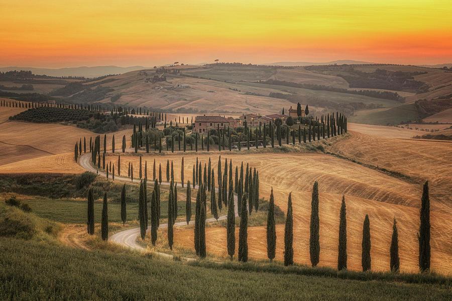 Asciano Photograph - Asciano, Tuscany - Italy by Joana Kruse
