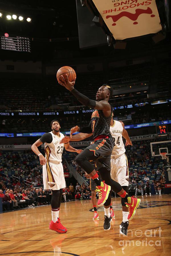Atlanta Hawks V New Orleans Pelicans Photograph by Layne Murdoch