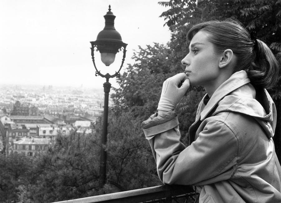 Audrey Hepburn Photograph by Bert Hardy