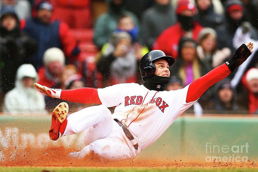 Baltimore Orioles V Boston Red Sox Photograph by Adam Glanzman