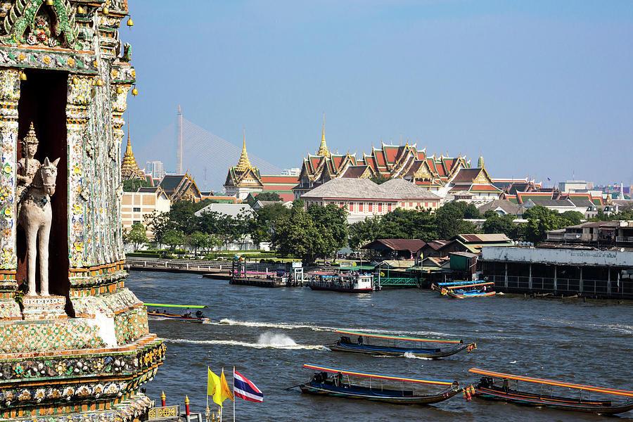 Ancient Photograph - Bangkok, Thailand by Miva Stock