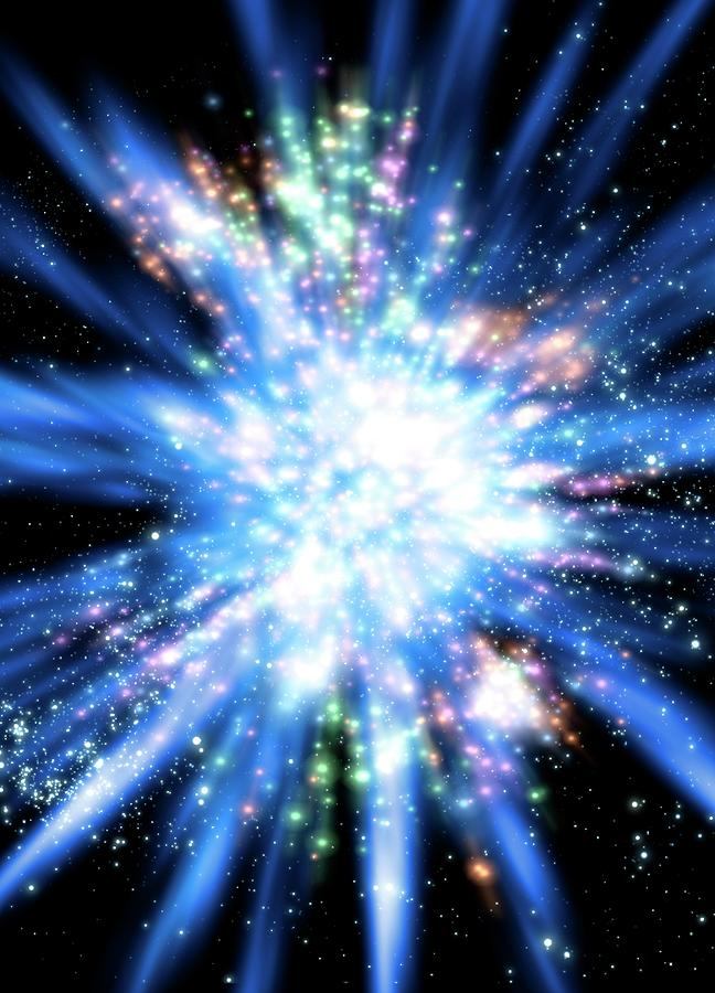 Big Bang, Conceptual Artwork Digital Art by Victor Habbick Visions