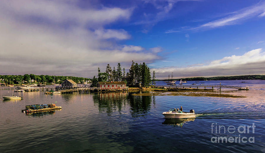 Boothbay Harbor Maine by New England Photography
