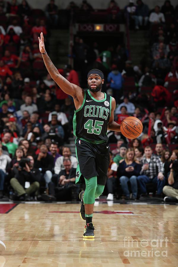 Boston Celtics V Chicago Bulls Photograph by Gary Dineen
