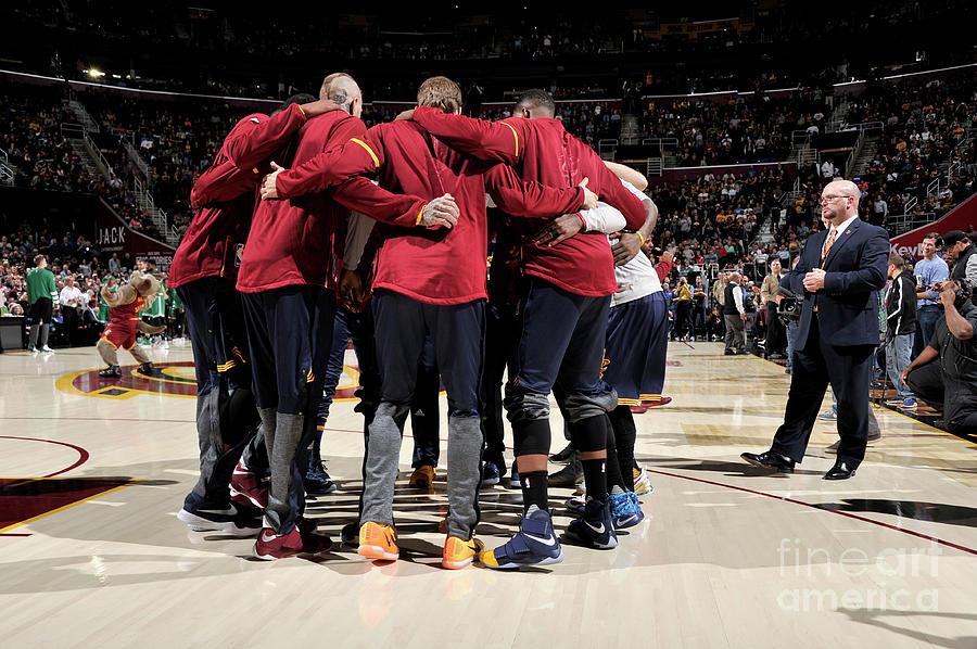 Boston Celtics V Cleveland Cavaliers Photograph by David Liam Kyle