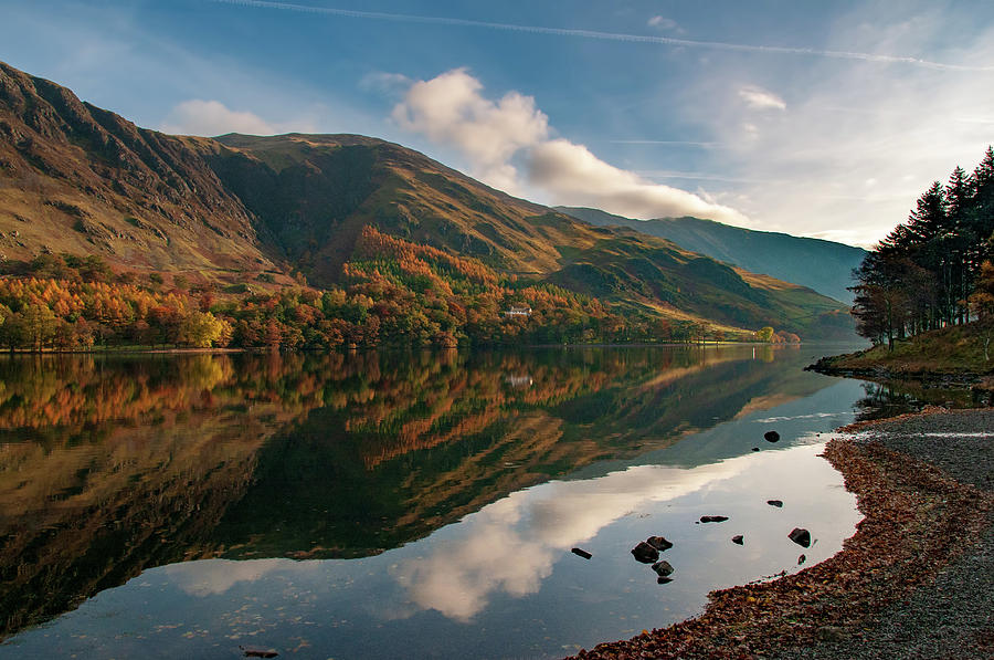 Buttermere Mixed Media - Buttermere by Smart Aviation