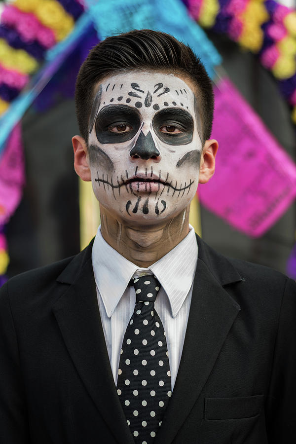 Day Of The Dead Photograph - Catrina on Day of the Dead by Dane Strom