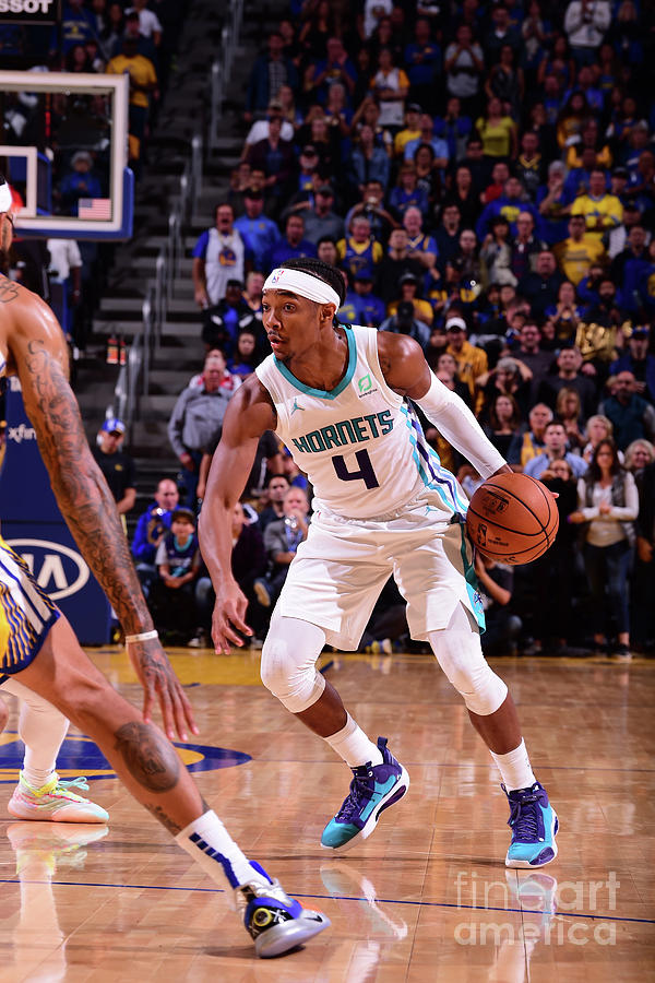 Charlotte Hornets V Golden State Photograph by Noah Graham