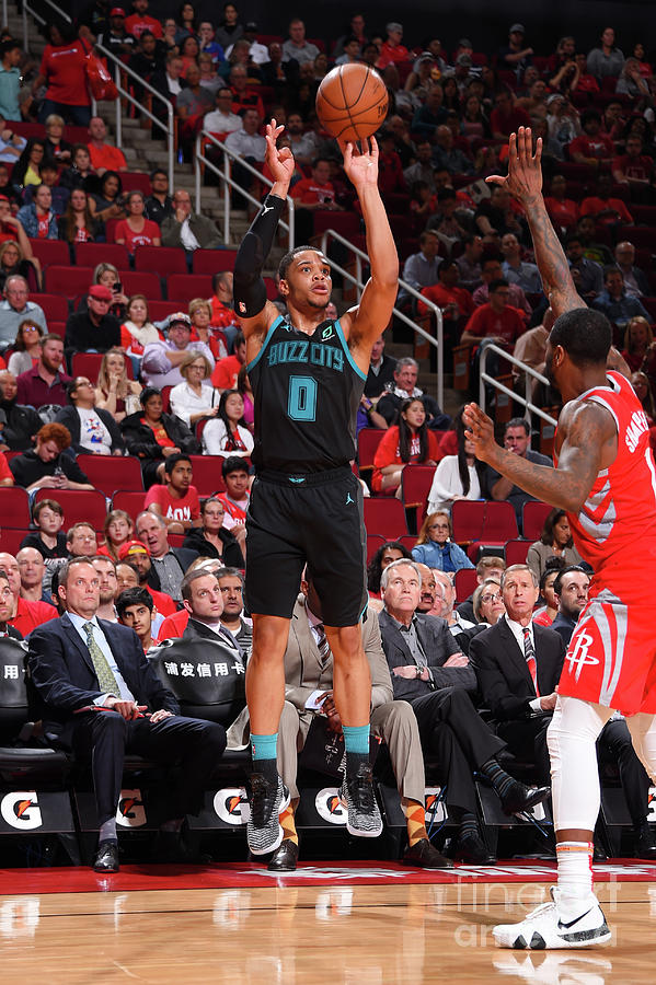 Charlotte Hornets V Houston Rockets Photograph by Bill Baptist