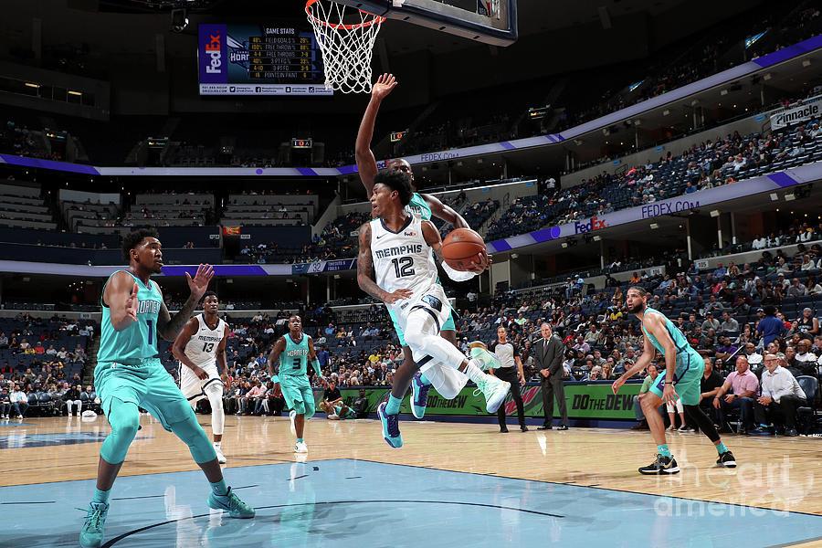 Charlotte Hornets V Memphis Grizzlies Photograph by Joe Murphy