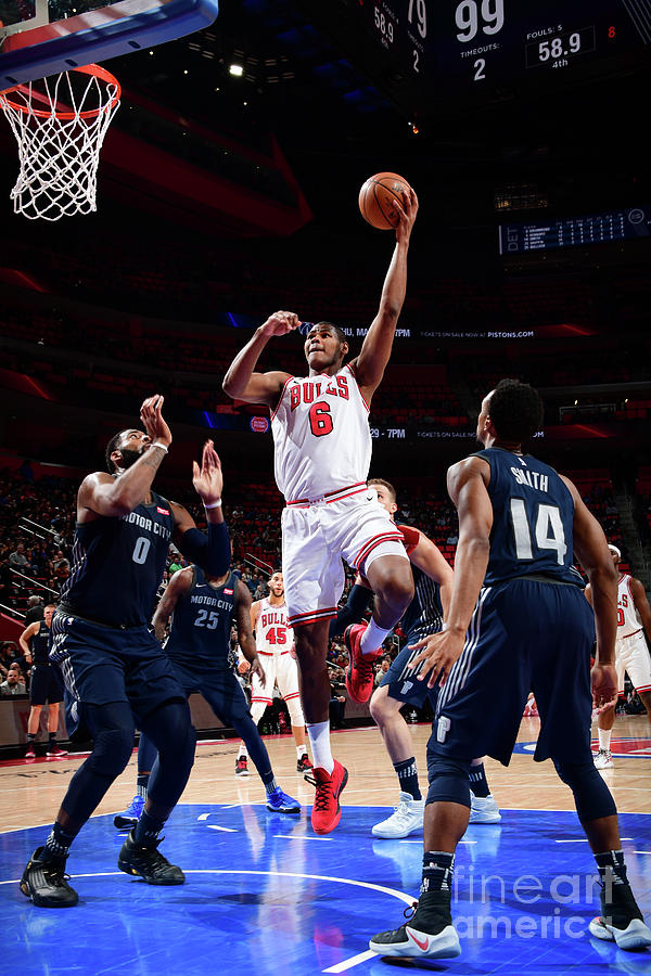 Chicago Bulls V Detroit Pistons Photograph by Chris Schwegler