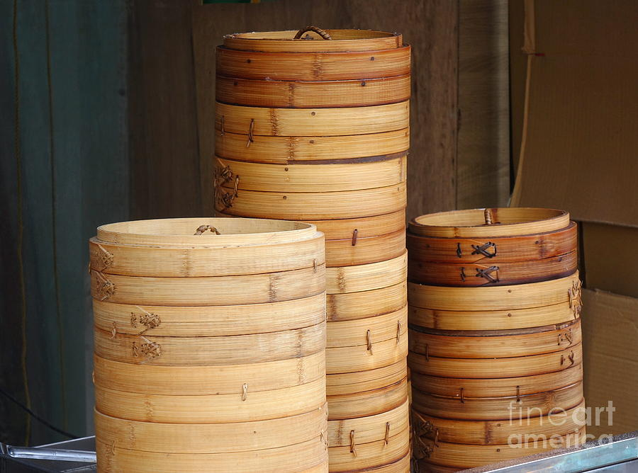 Chinese Bamboo Steamers by Yali Shi