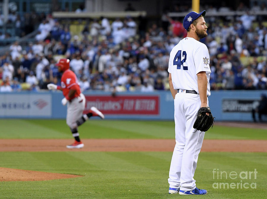 Cincinnati Reds V Los Angeles Dodgers Photograph by Harry How