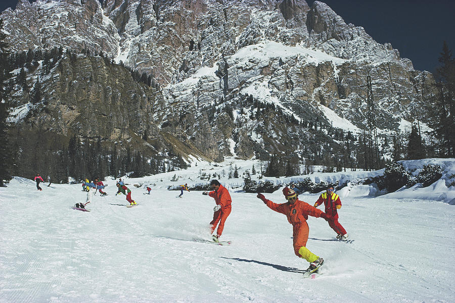 Cortina Dampezzo Photograph by Slim Aarons