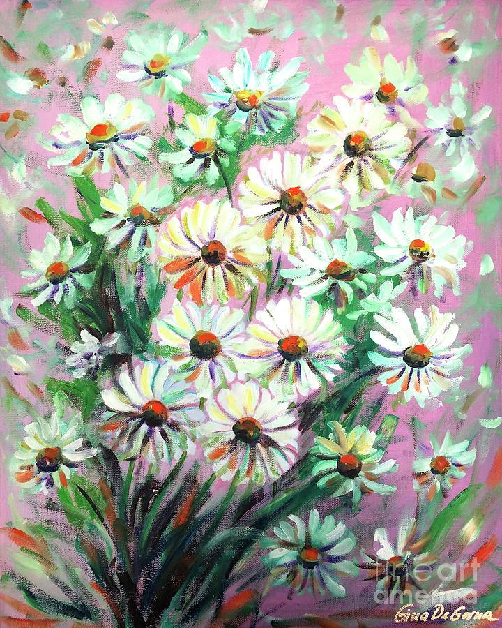 Daisies by Gina De Gorna